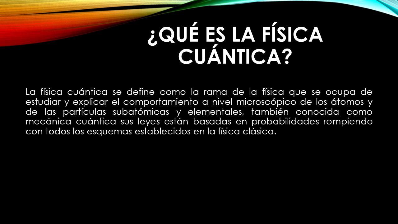 Ingeniería Física Cuántica: