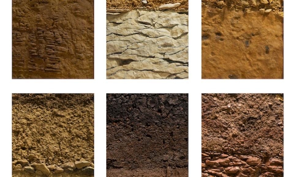 tipos de suelos en la geotecnica