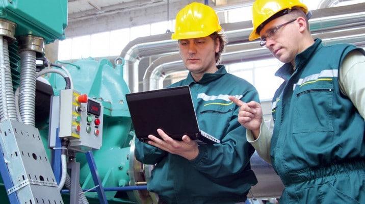 ingenieria de control en instrumentos de fabrica