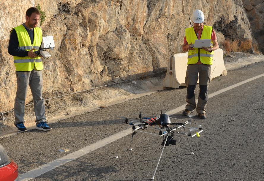 drones de la ingenieria geomatica