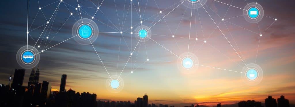 conexion consumidores ingenieria telematica mendiante redes