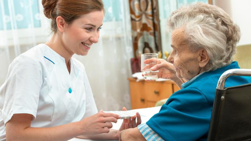 Enfermería geriátrica funciones: