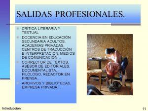 Traducción e Interpretación salidas
