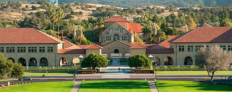 En el top 2 se encuentra la universidad de Stanford