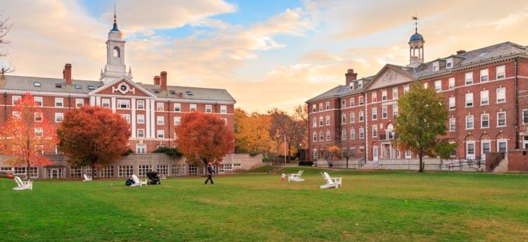 La universidad de Harvard ocupa el tercer lugar en el ranking mundial