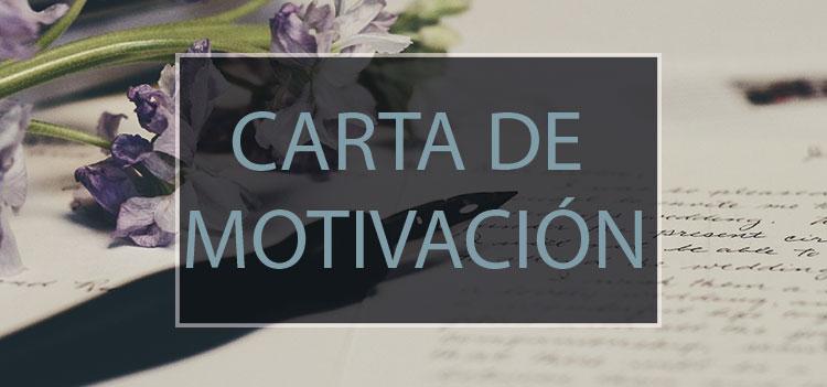 Carta de motivación